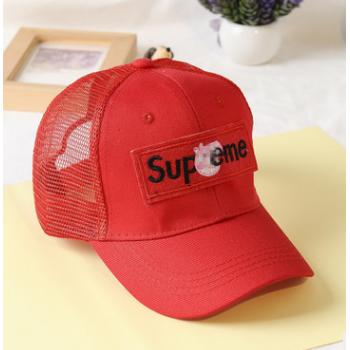 亲子款 抖音同款小猪社会人帽子男女成人嘻哈棒球帽鸭舌帽网帽