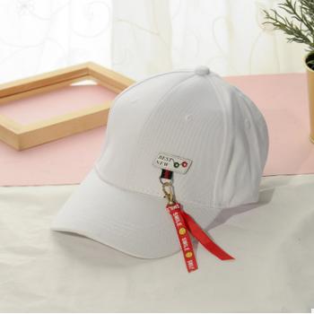 帽子男女韩版棒球帽潮休闲百搭鸭舌帽2018嘻哈夏季防晒遮阳太阳帽