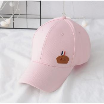 时尚帽子女夏韩版学生街头休闲百搭潮人白色防晒太阳帽遮阳棒球帽