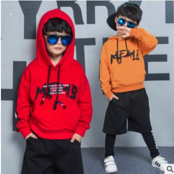 童装秋款2018新款春秋男童运动套装儿童男两件套韩版衣服厂家直销