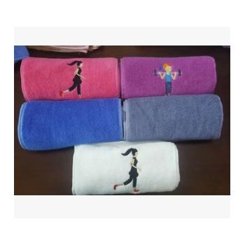 现货纯棉运动巾32股20*100礼品赠品运动会专用运动毛巾