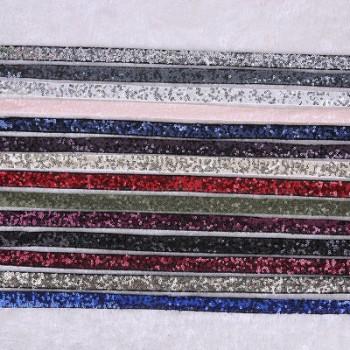diy提花带加亮片款 优质涤棉机织织带 服装辅料可来样定制批发