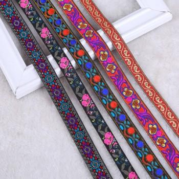 复古提花带新款优质涤纶织带diy服装辅料可来样定制批发