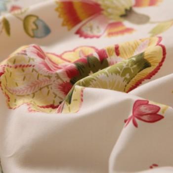 布样 布料 出口60S纯棉贡缎长绒埃及棉窗帘布料 厂家批发