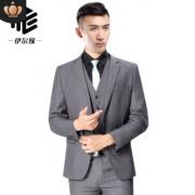 新款西装男士西服套装男三件套韩版定制职业装婚庆礼服一件代发
