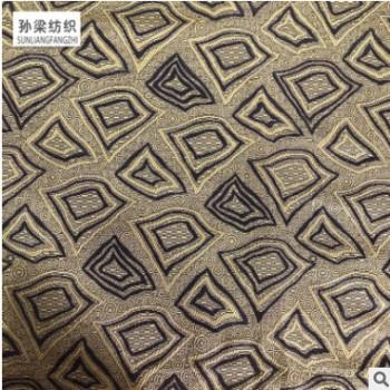 浙江厂家直销高品质JB-016二色经提花 复古家庭纺织沙发布批发