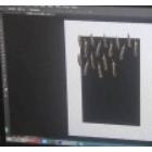 图案设计 羽毛印花面料图案 接循环 (12播放)