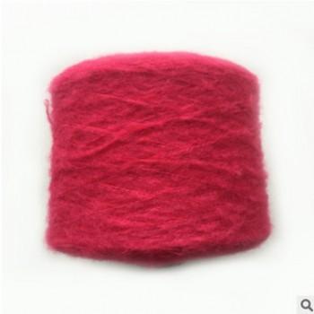 厂家直销环锭纺2.6S晴纶羊驼毛柔软舒适轻盈保暖色泽鲜艳接受订染