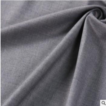 T/R弹力纬弹梭织斜纹哔叽面料 男士 休闲西装 正装 多色可选