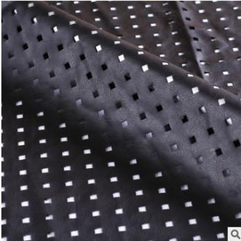绍兴厂家直销真皮皮革镂空PU冲孔切割加工 激光冲孔加工