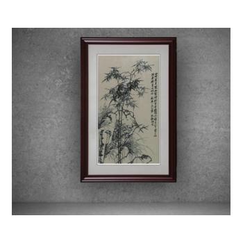 苏州刺绣成品客厅办公室带框装饰画纯手工苏绣工艺品厂家直销