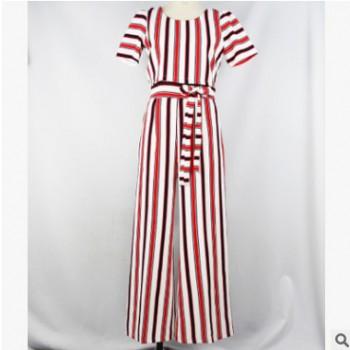 2018夏季新款 女新疆民族风 连体衣 时尚套装 量大从优