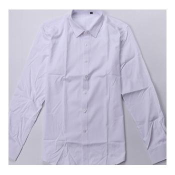 新款春秋男士长袖衬衫正装职业衬衣长袖 男白色修身男式衬衫