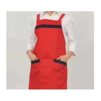 食品厂用围裙 家用围裙 各种纯色围裙 防污防水围裙 可加印logo