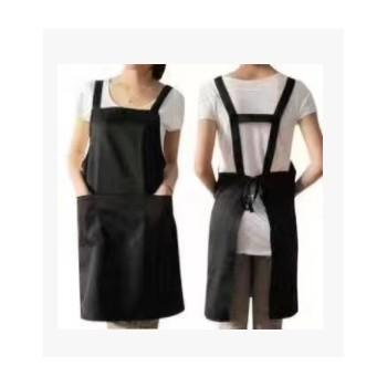 厂家直销家用无袖围裙 餐厅工作服 挂脖各种颜色围裙