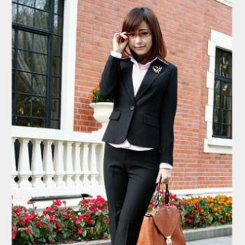 定做订购 女式职业套装 办公室职业装 职业女裙套装 上海职业装