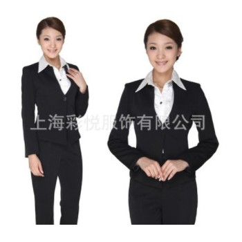 OL职业装女装春秋 女士职业套装 商务职业装定做 女式职业西装
