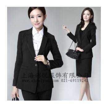 厂家定制批发职业装OL通勤文员装修身女式套装长/短袖西装套装 女