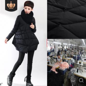 【梭织】 KA女装工厂秋冬装棉衣 羽绒服小批量快反加工厂包工包料生产定制