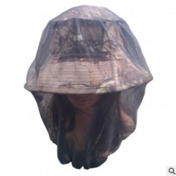 秀冠帽业 户外男女遮阳帽大边防晒养蜂帽透气钓鱼渔夫帽防紫外线