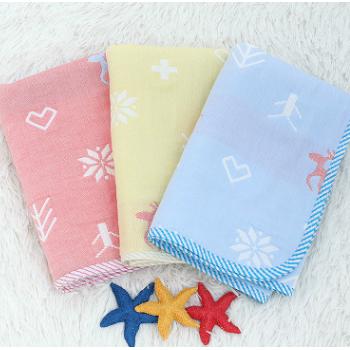 批发四层层纱布隔尿垫婴儿防水可洗透气棉多层纱布防水床垫