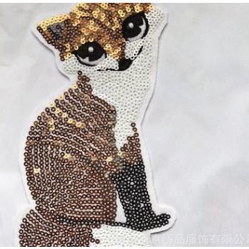 萌萌的卡通印加绣花 全棉针织棉 印加绣 厂家支持定做 现货