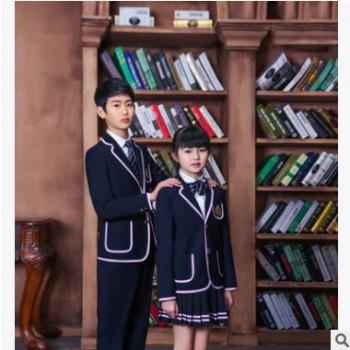 2016年新款学生校服英伦日韩班服套装定制学院风秋装高中学生校服