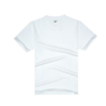 夏季新款圆领男式短袖T恤 男士纯棉韩版体恤纯色男装纯棉男士T恤