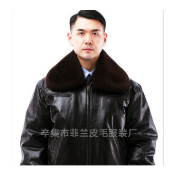 正品保真59冬飞皮衣飞行员真皮制服皮夹克头层老羊皮厂家供应团购