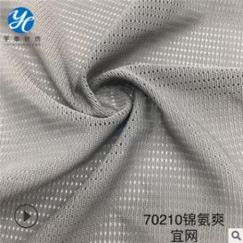 厂家生产直销 70210锦氨爽宜网 服装辅料 户外箱包网 高质体恤网