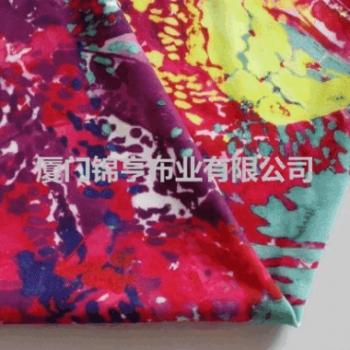 热销——高端、超质感棉型瑜珈印花针织汗布