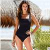 新款外贸泳装速卖通eBay亚马逊热卖连体加肥大码保守欧美游泳衣女