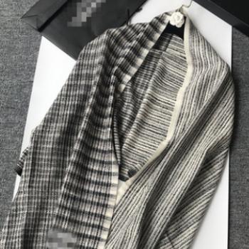 内蒙代工厂2018新款奢牌名品香+高端优质羊绒两用保暖秋冬经典款