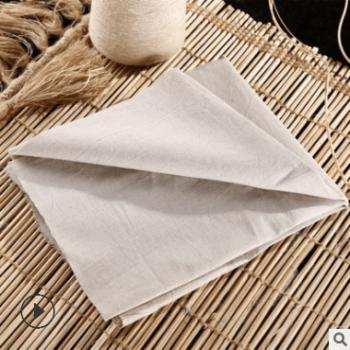 厂家供应 亚麻棉混纺布 特价亚麻棉布坯布 精选麻棉布料