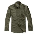 5.56-速干衣衬衫男长袖皮肤衣长袖半袖两用衬衣防水防紫外线
