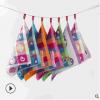 婴儿三层棉纱布卡通图案提花毛巾布方巾 口水巾供应 厂家直销