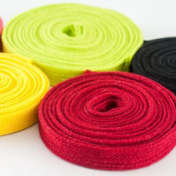 服装服饰批发涤棉定制扁绳涤纶裤腰绳子编织织带现货供应来样