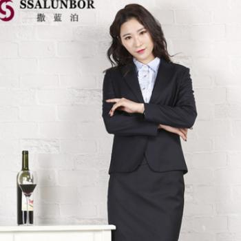 高级商务女职业套装 白领办公西装修身版型 量身定制