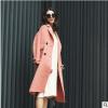 2018新款手工双面呢大衣 双面羊绒手缝大衣 韩版羊绒大衣