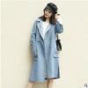 现货 2018秋冬新款双面羊绒大衣长款大衣呢子大衣韩版大衣