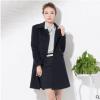 成都新品女士职业装外套羊毛呢子大衣工装纯色厂家直销定制定做