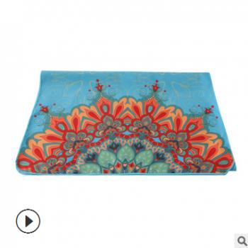 厂家直销专业定制 单面数码印花毛巾超细纤维瑜伽铺巾 防滑瑜伽垫