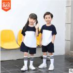 新款校服班服儿童夏季运动套装 厂家直销批发定制