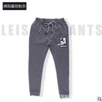 新品上新 男士韩版休闲加绒长裤潮流运动裤束脚哈伦加绒裤子