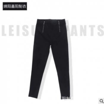 秋冬季女士新款韩版小脚紧身休闲裤中厚女裤 厂家直销 一件代发