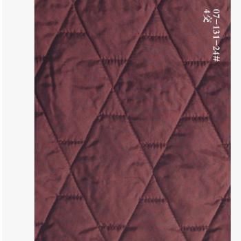 厂家承接包装礼品服装服饰菱形1-3米家纺涤纶,化纤,棉绗绣