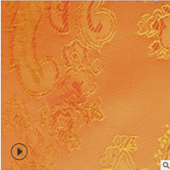 色织提花布 人丝大提花里布 服装里料 箱包提花里布布料