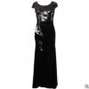 黑色年会晚礼服 气质通勤女装 高端大气气质晚礼服 量大从优