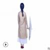 中国风宽松复古改良旗袍型天丝提花连衣裙