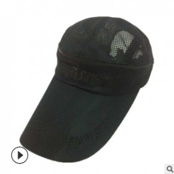 韩国棒球帽 运动帽两用空顶帽韩版 帽子批发 春夏网帽批发